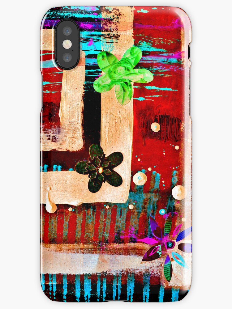 My Secret Garden Remix iPhone/iPod Case by Jay Taylor
