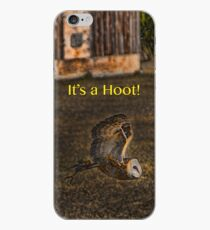 It's a Hoot! (IPhone case) iPhone Case
