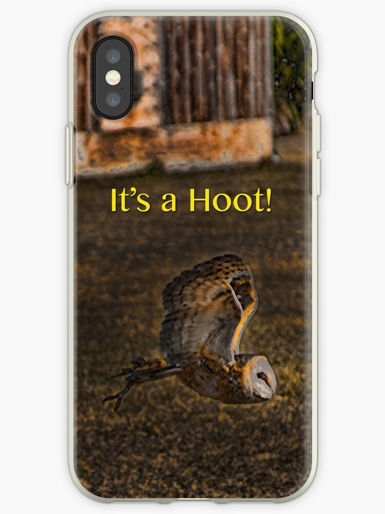 It's a Hoot! (IPhone case) by DeerPhotoArts