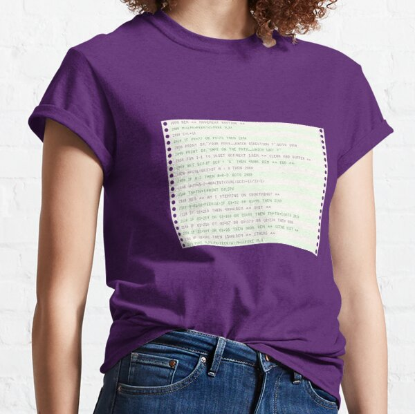 Listing paper (fanfold) Classic T-Shirt