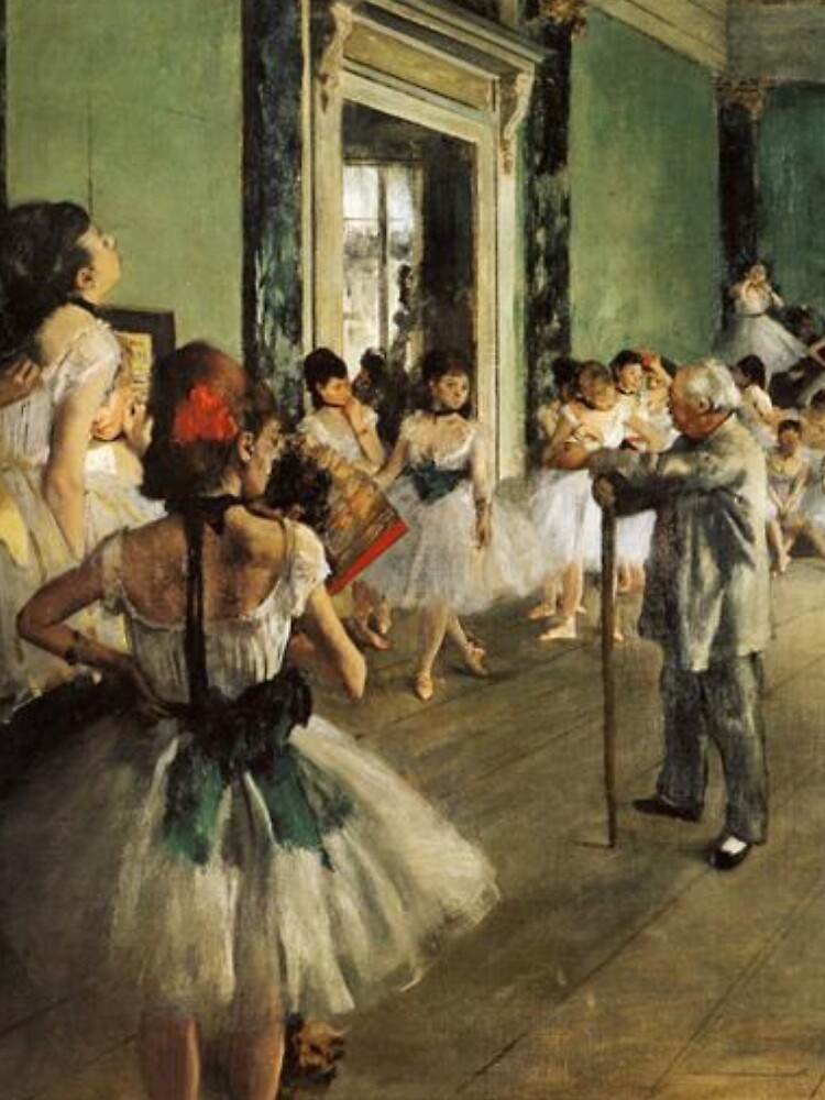 The Dancing Class 1874 By Edgar Degas | Reproduction | Famous French Painter by publicartgarden