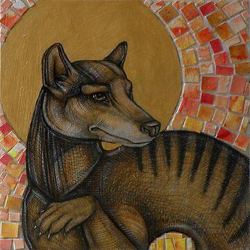 Extinction 1936 (The Thylacine) by LynnetteShelley