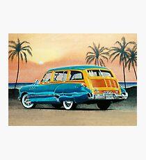 1949 Buick Super Estate Wagon ver 1 Photographic Print