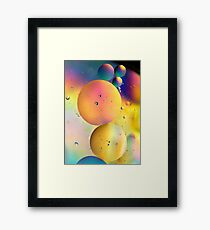 Life in a Bubble... Framed Print