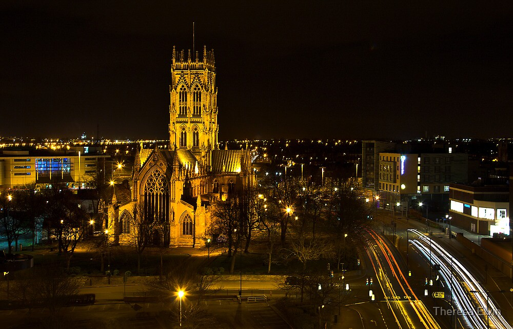 Doncaster Minster by Theresa Elvin