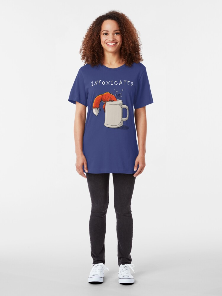 Alternate view of INFOXICATED Slim Fit T-Shirt