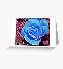 Majestic flower greeting cards redbubble majestic blue greeting card m4hsunfo