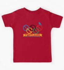 Portland Nolympics Kids Tee