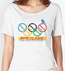 Portland Nolympics Women's Relaxed Fit T-Shirt