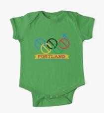 Portland Nolympics One Piece - Short Sleeve