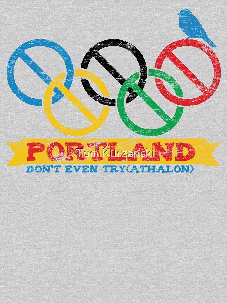 Portland Nolympics by tomkurzanski