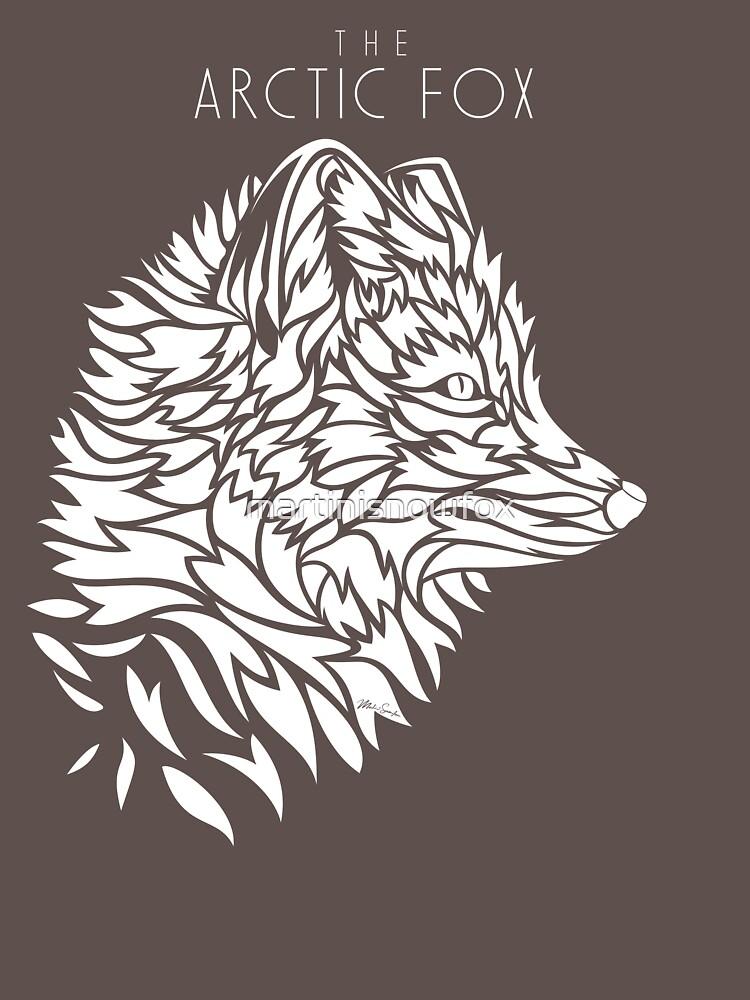The Arctic Fox - white by martinisnowfox