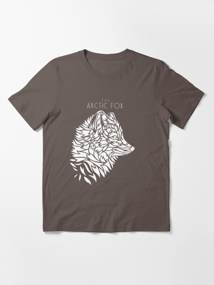 Alternate view of The Arctic Fox - white Essential T-Shirt
