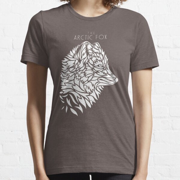 The Arctic Fox - white Essential T-Shirt
