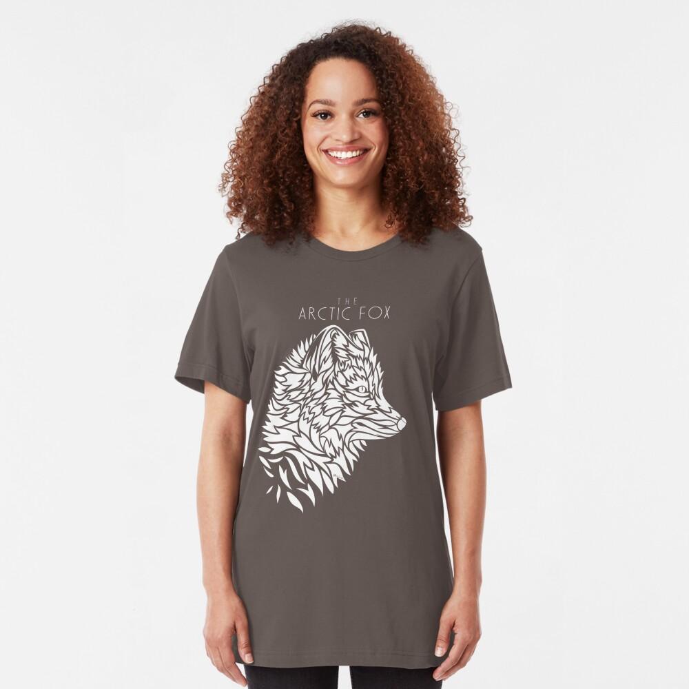 The Arctic Fox - white Slim Fit T-Shirt