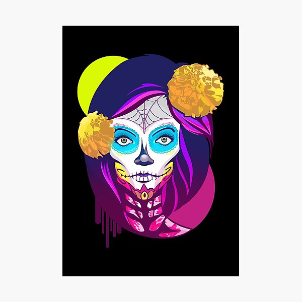 Catrina, Day of the Dead Photographic Print