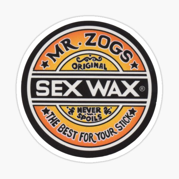 Sex Wax Original Sticker
