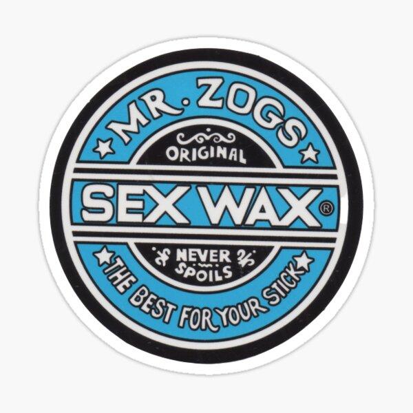 Sex Wax Blue Sticker