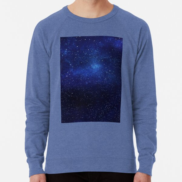 Starry sky Lightweight Sweatshirt