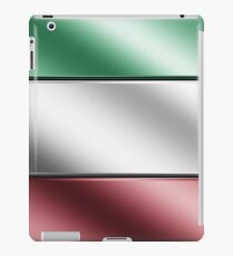 Italian Flag - Italy - Metallic iPad Case/Skin