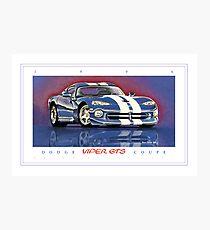 1996 Dodge Viper GTS Coupe ver 2 Photographic Print
