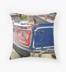 Birmingham Boat Throw Pillow
