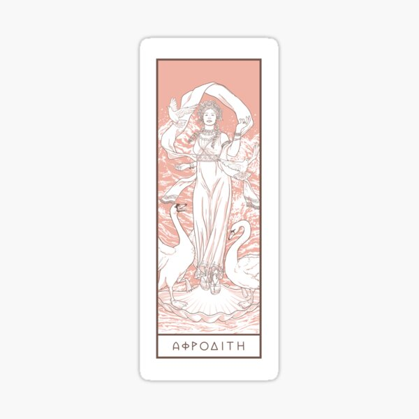 Love Goddess Aphrodite  Sticker
