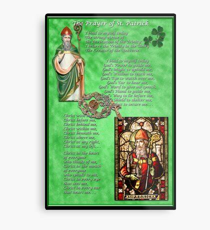 St. Patrick's Prayer Metal Print