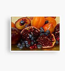 Fruit studio shot Canvas Print
