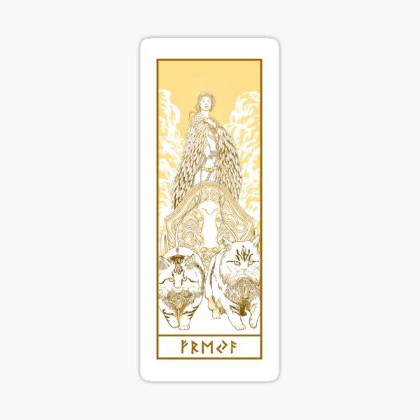 Love Goddess Freyja Sticker