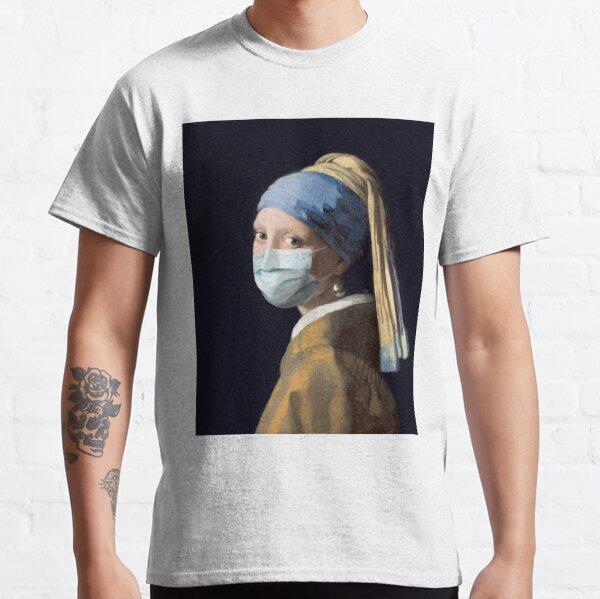 Coronavirus Girl with a Pearl Earring Classic T-Shirt