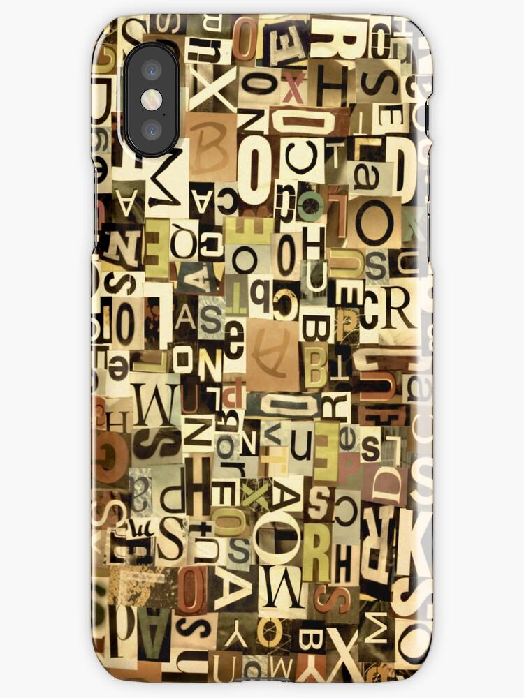 Alphabet by Kerri Swayze-Cox