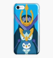 Awkward Penguin Portrait iPhone Case/Skin
