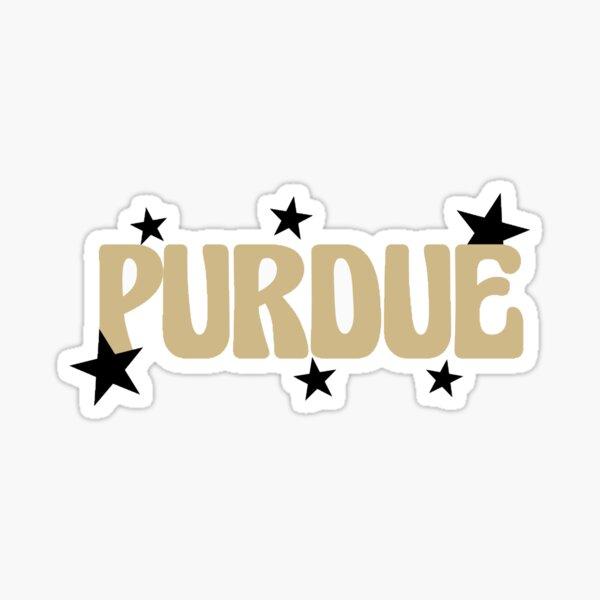 purdue stars Sticker
