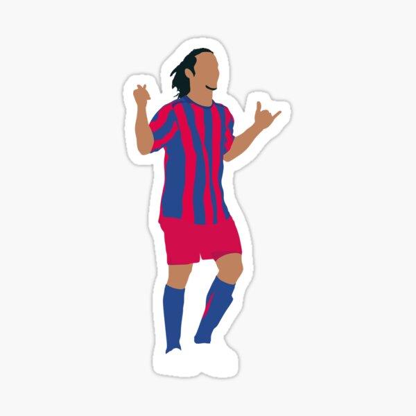 Ronaldinho FC Barcelona. Pegatina