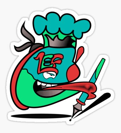 Chefleclef  Sticker