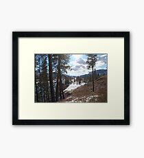 a scene to enjoy Framed Print