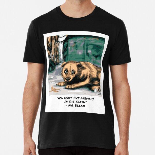 Abandon Dog | Bleakville Premium T-Shirt