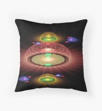 3D Domes Throw Pillow