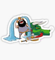 FUS RO ARRGGHHHH Sticker