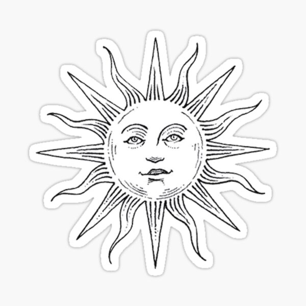 Tumblr Sonne Sticker