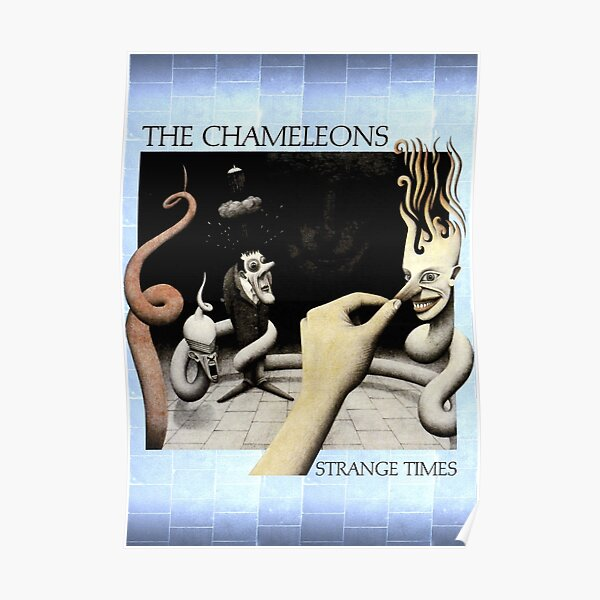 The Chameleons - Strange Times (US Version) Poster