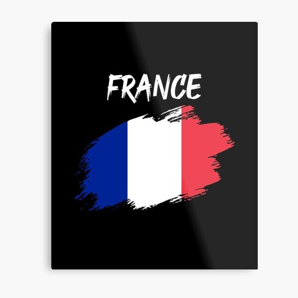 France french flag flag tricolor Metal Print