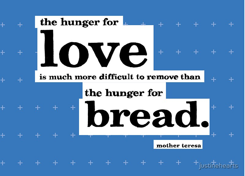 """""""Mother Teresa Quote Typography"""" Canvas Prints By"""
