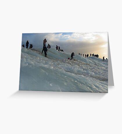 Ice Walls  Greeting Card