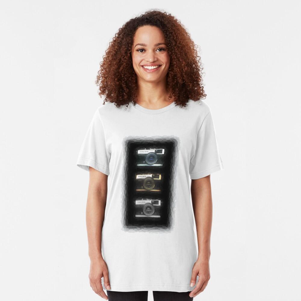 3 times a classic Slim Fit T-Shirt