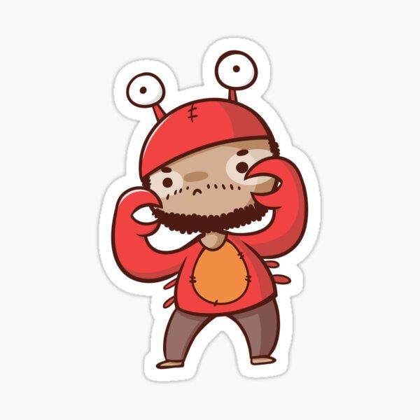 Streamer Shenanigans - SefCrab Sticker