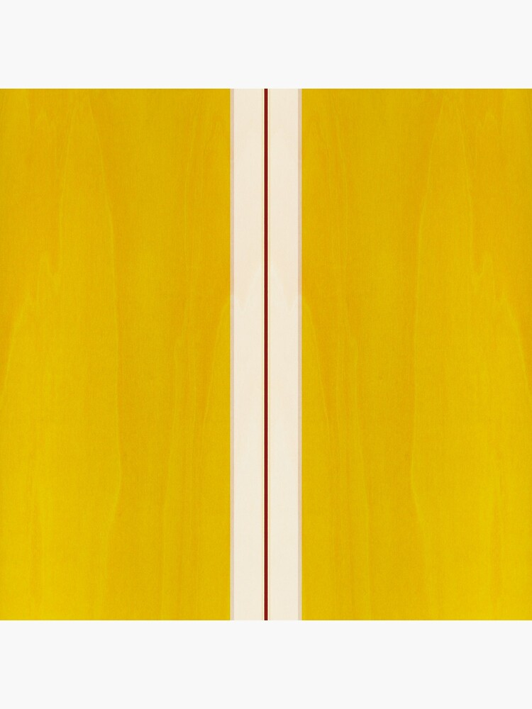 Yellow Vintage Surfboard by artboy213