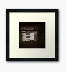 { super retro } Framed Print