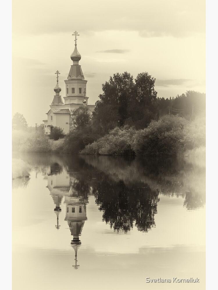 Russian Church reflection by SvetlanaKorneli
